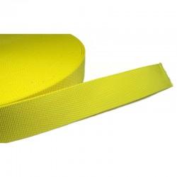50mm Nylon Webbing - Yellow