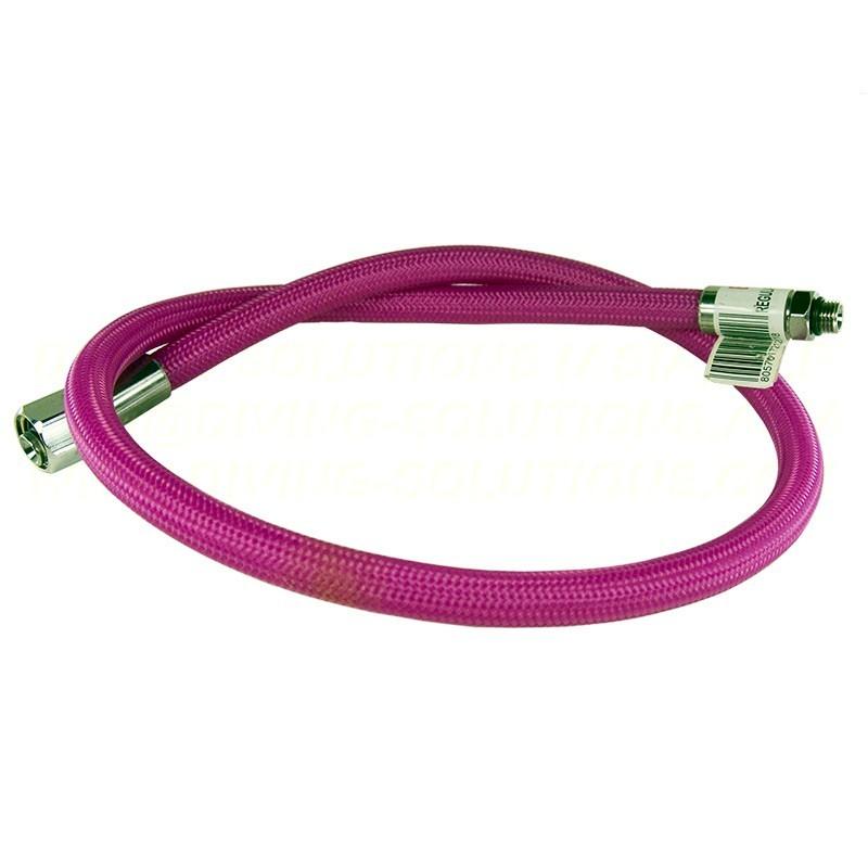 Braided LP Hose, 90cm - Purple