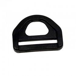 Plastic D-Ring - 1 inch