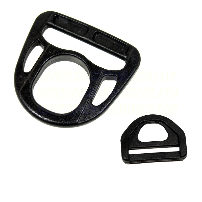 Plastic D-Ring - 2 inch