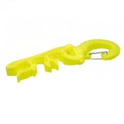 3 Hose Clip/Holder - Yellow