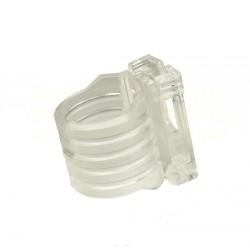 Snorkel Clip - Plastic - Clear