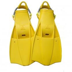 Aquatec Rubber Fins - Yellow