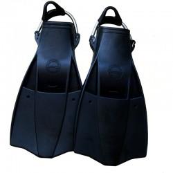 Aquatec Rubber Fins - Black