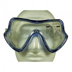 Aquatec Single Lens Mask - Clear