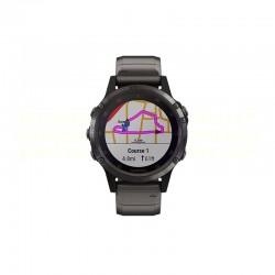 Garmin Fenix 5S Plus (51mm) - Carbon Grey/Titanium