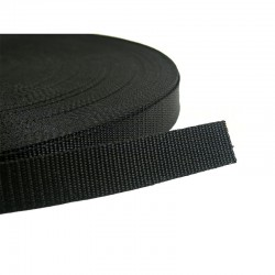 25mm Webbing (Black)
