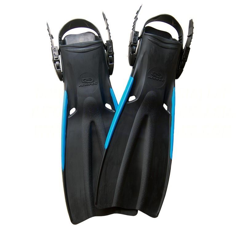 Open Heel Rubber Fins
