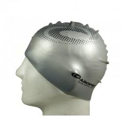 Silicone Swimming Cap - Silver