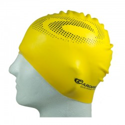 Silicone Swimming Cap - Yellow
