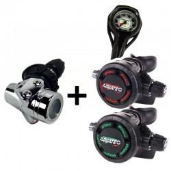 RG-4100F DIN + RG-3100S + RG-3100S +PG-450